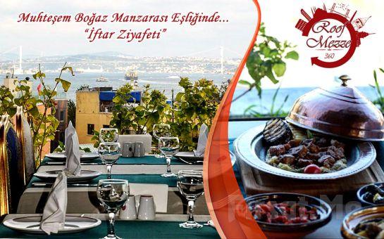 Sultanahmet Seres Otel Roof'ta Boğaz Manzarası Eşliğinde Ramazana Özel İftar Menüsü