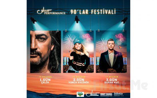 Beyoğlu Sanat Performance'ta 15 - 16 ve 17 Haziran'da 90'lar Festivali Açık Hava Konserleri