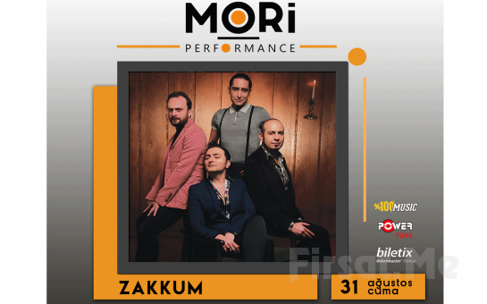 Mori Performance'da 31 Ağustos'ta Zakkum Konser Bileti