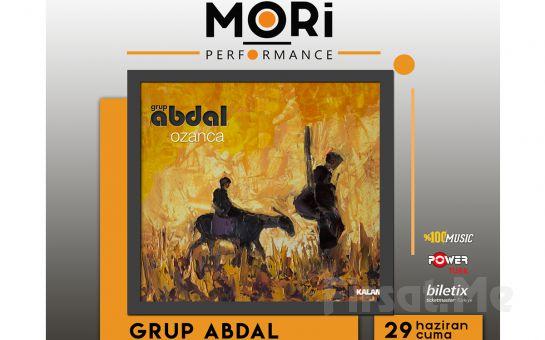 Mori Performance'ta 29 Haziran'da Grup Abdal Konser Bileti