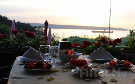 Boğaza Nazır Taşlıhan Restaurant'ta Nefis Balık veya Izgara Menüleri