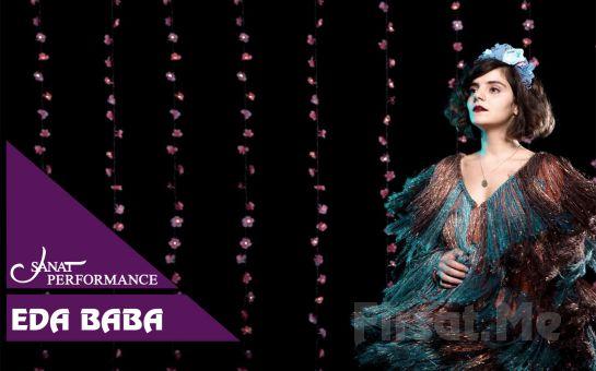 Beyoğlu Sanat Performance'ta 5 Temmuz'da Eda Baba Açık Hava Konseri Giriş Bileti
