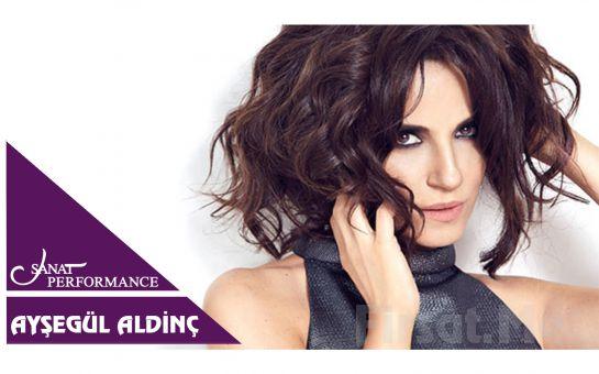 Beyoğlu Sanat Performance'ta 13 Temmuz'da Ayşegül Aldinç Açık Hava Konseri Giriş Bileti