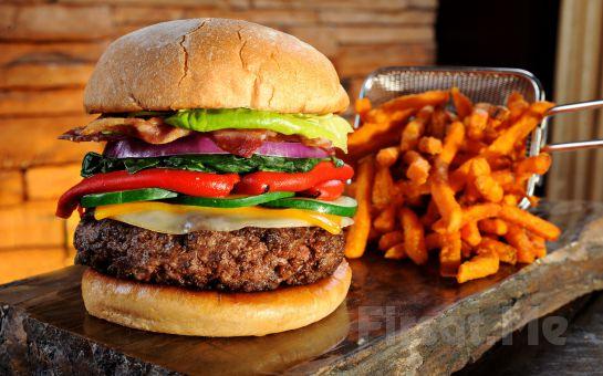 Beylikdüzü The Shaula'da Nefis Hamburger Menü
