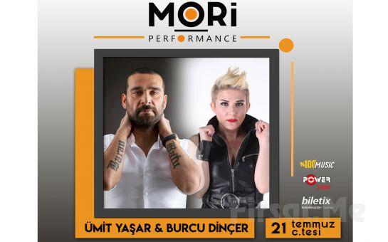 Mori Performance'da 21 Temmuz'da Ümit Yaşar & Burcu Dinçer Konser Bileti