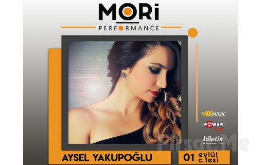 Mori Performance'ta 1 Eylül'de Aysel Yakupoğlu Konser Bileti