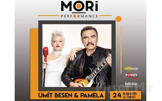 Mori Performance'da 24 Kasımda Ümit Besen & Pamela Konser Bileti