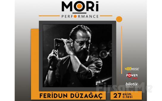 Mori Performance'da 27 Ekim'de Feridun Düzağaç Konser Bileti