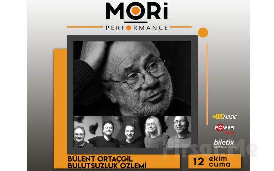 Mori Performance Hall'de 12 Ekim'de Bülent Ortaçgil & Bulutsuzluk Özlemi Konser Bileti