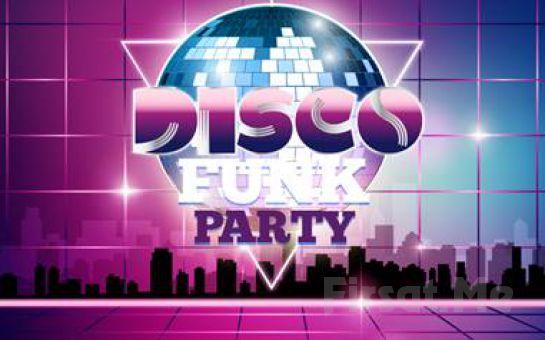 Beyoğlu Sanat Performance'ta 24 Ağustos'ta Açık Havada Disko Funk Party Konser Bileti