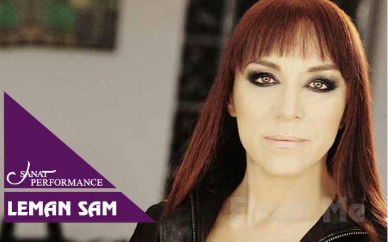 Beyoğlu Sanat Performance'ta 8 Eylül'de Leman Sam Açık Hava Konser Bileti