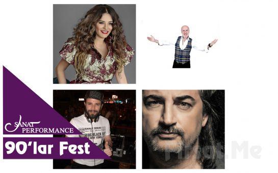Beyoğlu Sanat Performance'ta 7 Eylül'de Çelik, Reyhan Karaca, Ufuk Yıldırım ve Dj Hakan Küfündür ile 90'lar Festivali Açık Hava Konser Bileti