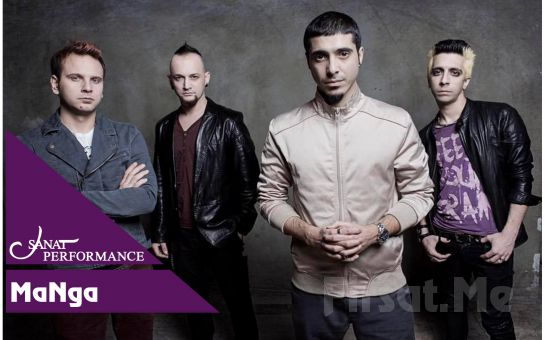 Beyoğlu Sanat Performance'ta 16 Mart'ta MaNga Konser Bileti