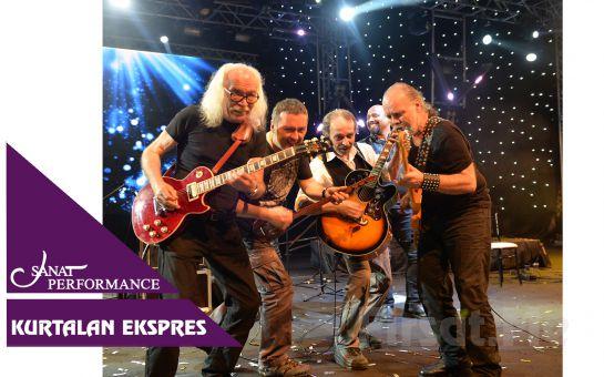 Beyoğlu Sanat Performance'ta 31 Ağustos'ta KURTALAN EKSPRES Açık Hava Konser Bileti