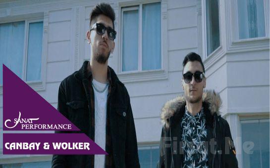 Beyoğlu Sanat Performance'ta 26 Eylül'de Canbay & Wolker Açık Hava Konseri Giriş Bileti