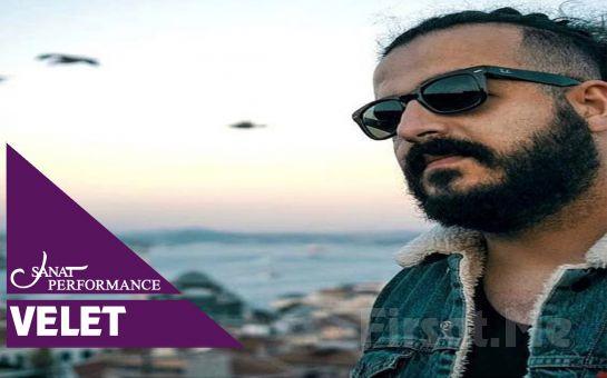 Beyoğlu Sanat Performance'ta 5 Eylül'de Velet Açık Hava Konseri Bileti