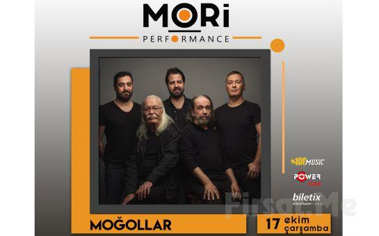 Mori Performance'ta 17 Ekim'de Moğollar Konser Bileti