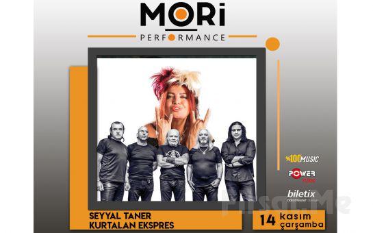 Mori Performance'da 14 Kasım'da Seyyal Taner & Kurtalan Ekspres Konser Bileti