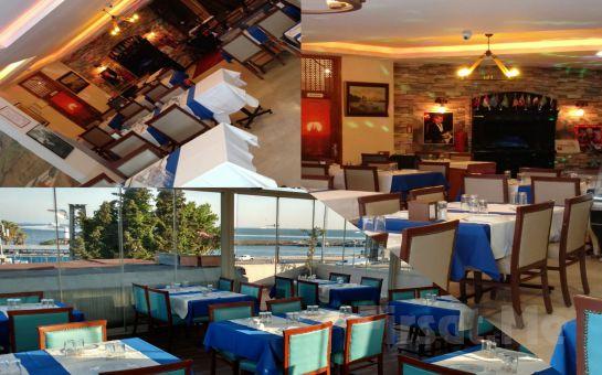 Kumkapı Hünkar Restaurant'ta İçki Dahil Fasıllı Leziz Yemek Menüleri ve Doyasıya Eğlence