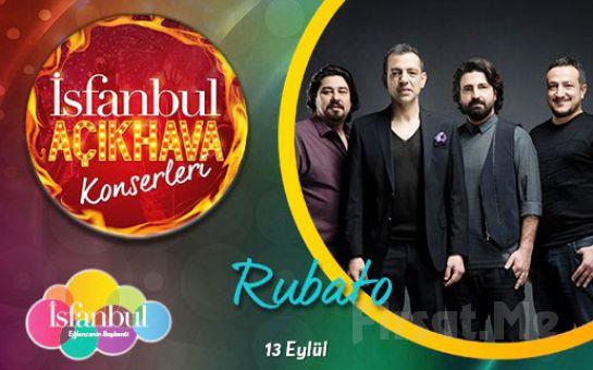 İsfanbul'da 13 Eylül'de Rubato Açık Hava Konser Bileti