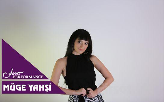 Beyoğlu Sanat Performance'ta 24 Ekim'de Müge Yahşi Konser Bileti