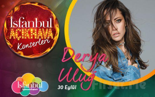 İsfanbul'da 30 Eylül'de Derya Uluğ Açık Hava Konser Bileti
