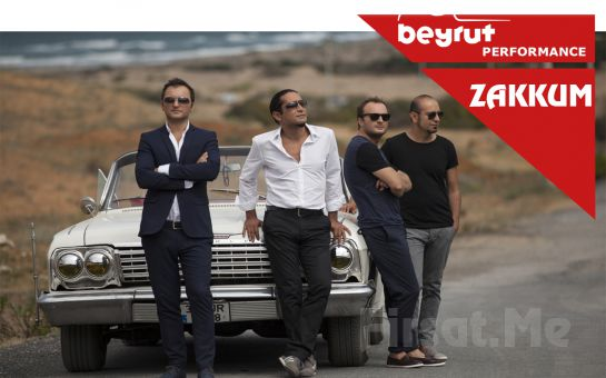 Beyrut Performance Kartal Sahne'de 17 Kasım'da Zakkum Konser Bileti