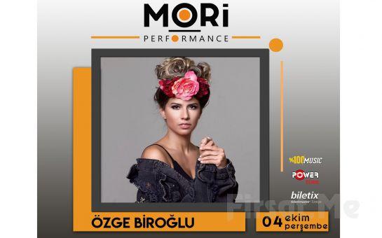 Mori Performance'da 4 Ekim'de Özge Biroğlu Konser Bileti