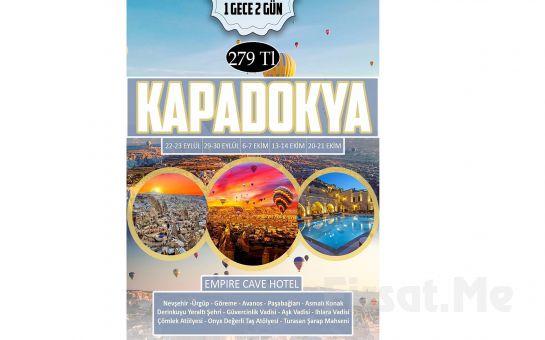 Asso Tur'dan Her Haftasonu Kapadokya Kültür Turu