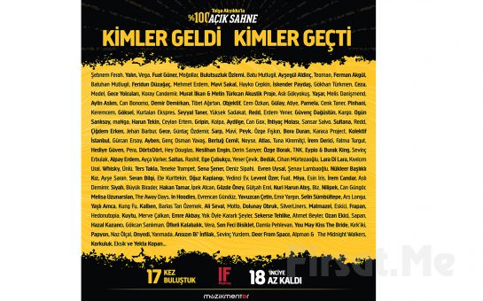 IF Performance Hall Beşiktaş'ta 17 Ekim'de Tolga Akyıldız'la %100 Açık Sahne Konser Bileti