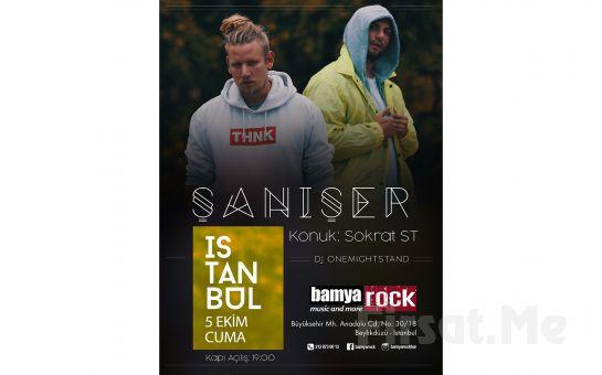 Bamya Rock'ta 5 Ekim'de Şanışer Konser Bileti