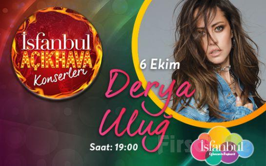 İsfanbul'da 6 Ekim'de Derya Uluğ Açık Hava Konser Bileti