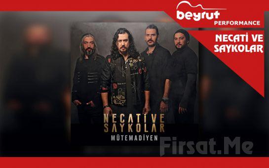 Beyrut Performance Kartal Sahne'de 5 Ocak'ta Necati ve Saykolar Konser Giriş Bileti