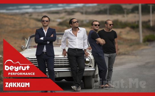 Beyrut Performance Kartal Sahne'de 21 Eylül'de 'Zakkum' Konser Bileti