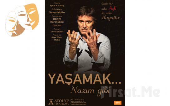 Hazım Körmükçü ve Tülin Boz'dan 'Yaşamak Nazım Gibi Vol.2' Tiyatro Oyun Bileti