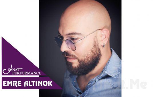 Beyoğlu Sanat Performance'ta 7 Kasım'da Emre Altınok Konser Bileti