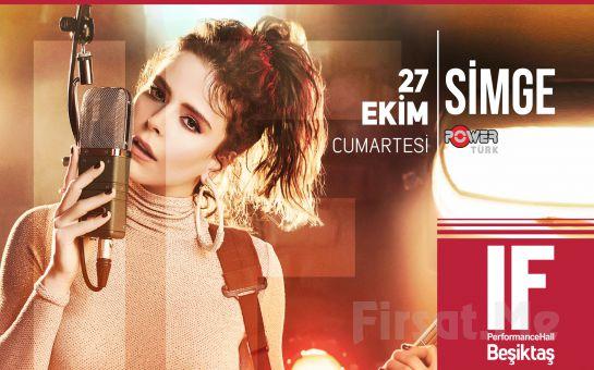 IF Performance Beşiktaş'ta 27 Ekim'de Simge Sağın Konser Bileti