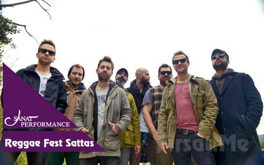 Beyoğlu Sanat Performance'ta 3 Kasım'da Reggae Fest (Sattas, DaPoet, Dj Genjah) Konser Bileti
