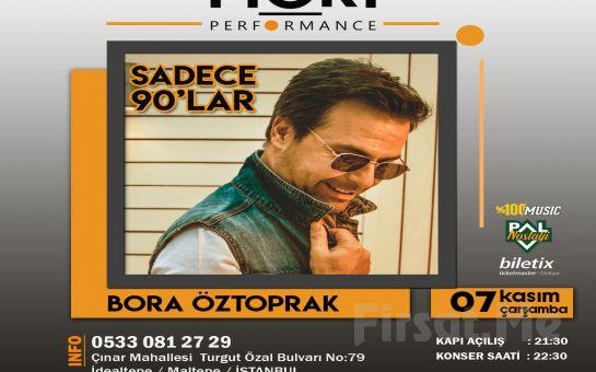Mori Performance'ta 7 Kasım'da Bora Öztoprak Konser Bileti