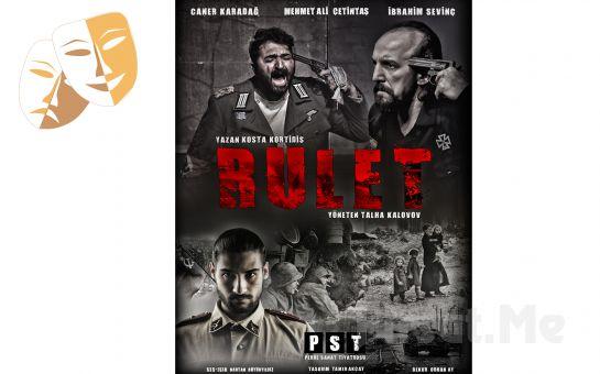 Perde Sanat Tiyatrosu'ndan Ödüllü 'Rulet' Adlı Drama Tiyatro Oyunu Sezon Yeni Bileti 35TL yerine 23 TL