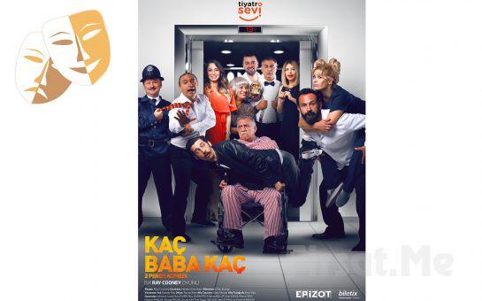 Usta Oyuncu Kadrosundan 'Kaç Baba Kaç' Tiyatro Oyun Bileti
