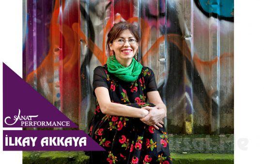 Beyoğlu Sanat Performance'ta 23 Kasım'da İlkay Akkaya Konser Bileti