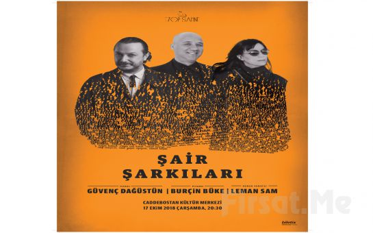Caddebostan Kültür Merkezi'nde 17 Ekim'de Leman Sam ile 'Şair Şarkıları' Konser Bileti
