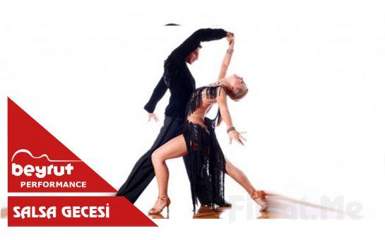 Beyrut Performance Kartal Sahne'de Her Salı 'Salsa Gecesi' Bileti