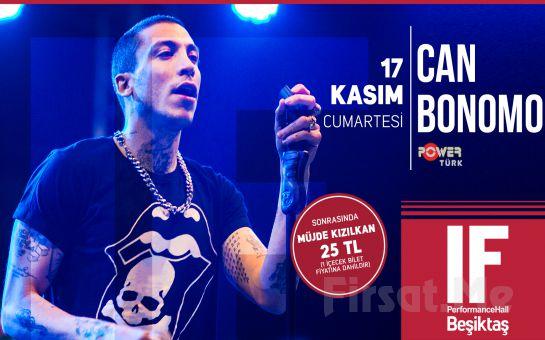 IF Performance Hall Beşiktaş'ta 17 Kasım'da Can Bonomo Konser Bilet