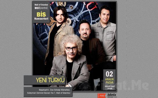 Efsane Grup 'Yeni Türkü' Konser Bileti