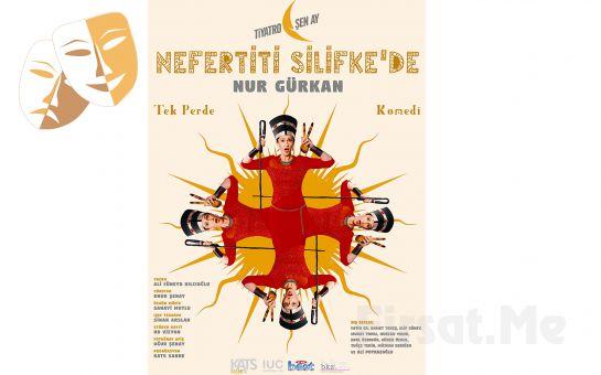 Nur Gürkan'dan Tek Kişilik 'Nefertiti Silifke'de' Tiyatro Oyun Biletleri