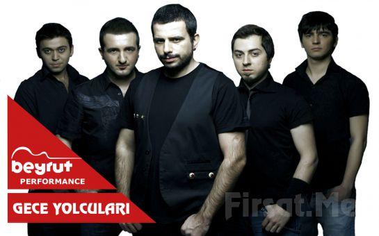 Beyrut Performance Kartal Sahne'de 16 Mart'ta Gece Yolcuları Konser Bileti