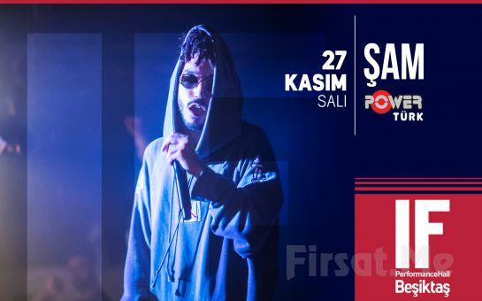 IF Performance Beşiktaş'ta 27 Kasım'da Şam Konser Bileti