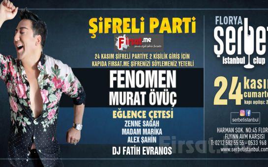 Florya Şerbet Club'ta 24 Kasım'da 2 Kişilik 'Şifreli Parti' Bileti